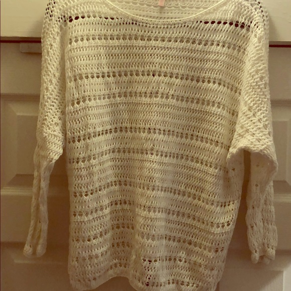 Victoria's Secret Other - Woven swimsuit cover/sweater